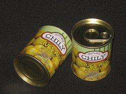 Boîte d'Olives anchois
