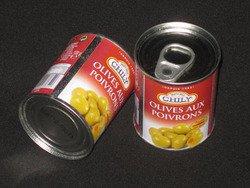 Boîte d'Olives poivrons
